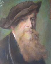 """Charles Louis GRATIA  """"Auto-portrait"""""""