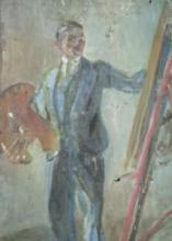 """Raphael JACQUES """"Le peintre"""""""