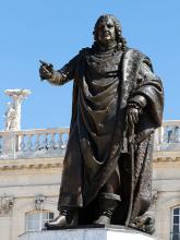 """Georges JACQUOT """" La statue de Stanislas"""""""
