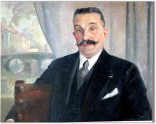 """Lucien LANTIER  """"Autoportrait"""""""