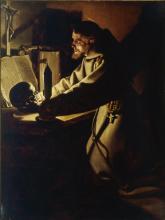 """Jean Le CLERC  """"La méditation de St. François d'Assise"""""""