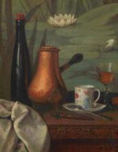 """Jean Gustave POMBA  """"Nature morte"""""""