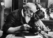 Victor PROUVÉ et son fils Jean