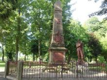 Joseph VERRELLE     :  Monument aux morts à Baccarat