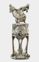 """Félix VOULOT  """"Pendule en bronze"""""""