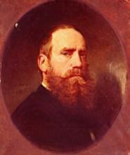 """Adolphe YVON  """"Autoportrait"""""""