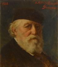 """François-Louis FRANÇAIS  """"Autoportrait"""""""