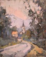 """Nicole GAUTHIER  """"Village lorrain"""""""