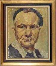 """Emile GRUB  """"Autoportrait"""""""