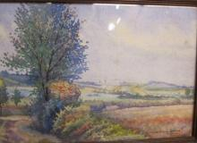 Pierre JACQUOT       :  Un horizon lorrain