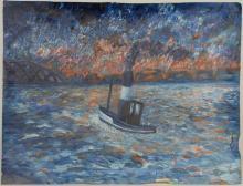 Francis KENNEL       :  Bateau de pêche