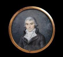 Charles-Nicolas NOEL       :  Portrait d'un homme
