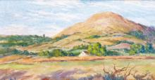 Georges-Pierre SERRIER       :  Paysage du Puy de Dôme