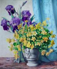 """Armand GUIDAT  """"Vase de fleurs"""""""