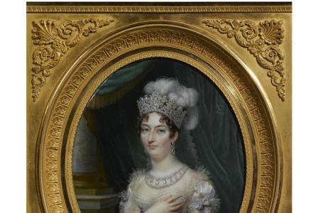 Jean-Baptiste-Jacques  AUGUSTIN       :   Portrait of Marie Thérèse Charlotte, Duchesse d'Angoulême (1778-1851)