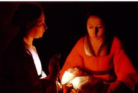 Georges de la Tour       :  Nativité