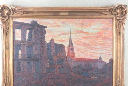 Michel COLLE       :  Baccarat en 1914