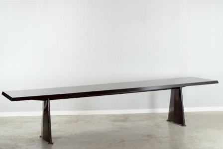 """Jean PROUVÉ       :  Table """"Trapèze"""""""