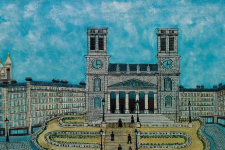 Louis VIVIN         :  L'Eglise Saint Vincent de Paul