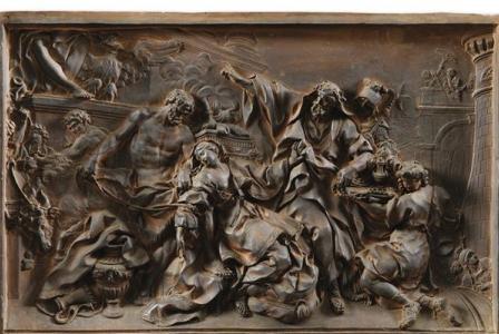 Nicolas Sébastien ADAM       :  The martyrdom of Saint Victoria