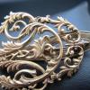 Ferdinand KAUFFER       :  Partie de chatelaine en or