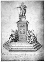 Père ENGRAMELLE       :       Statue de Louis XV sur la Place Royale de Nancy