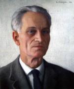 """Maurice EHLINGER  """"Autoportrait"""""""