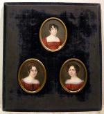 """Marie Marguerite JASER-ROUCHIER """"  Portraits de femmes en buste"""""""