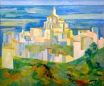 """Henri LALEVÉE  """"Village provençal"""""""