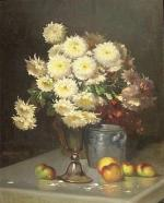 "Paul MARTIGNON  ""Vase de fleurs"""