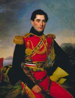 """Joseph VAUDECHAMP  """"Portrait d' Antoine Jacques Philippe de Marigny de Mandeville"""""""