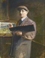 """""""Henry GROSJEAN  """"Auto-portrait"""""""