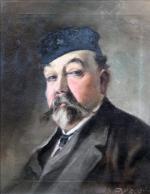 Théodore BALKÉ       :  Portrait d'homme