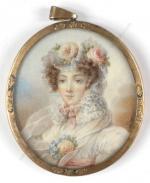 Emma DUPUY-LAURENT        :  Portrait de jeune femme