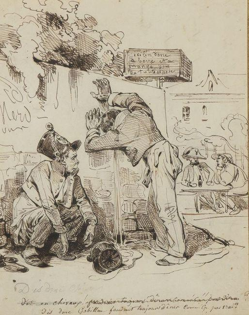 Jean-Ignace-Isidore GRANDVILLE       : Dis donc GOBILLAU