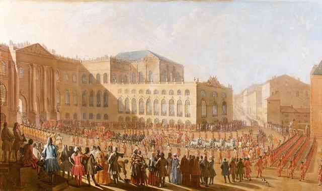 Claude JACQUART       :  Marche de mariage de sa Majesté Henri-Jacques de Lorraine et d'Anne Marguerite Gabrielle de Beauvau Craon