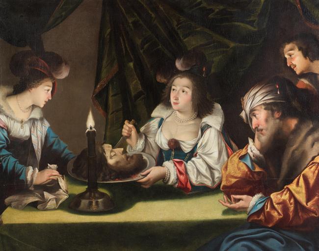 Jean LE CLERC       :  Salomé présentant la tête de Saint Jean-Baptiste