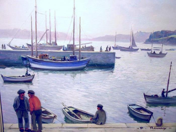 Paul REMY         :  Port de pêche
