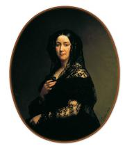 """Charles GOMIEN  """"Comtesse Adolphe de Rougé"""""""