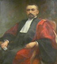 "Jean Mathias SCHIFF  ""Portrait du Pr. Simon"""