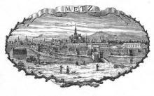 "Adolphe BELLEVOYE  ""Metz"""
