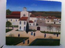 """Robert BROUSSOLLE  """"Le village"""""""