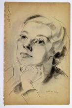 """Colette LEVY  """"Autoportrait"""""""