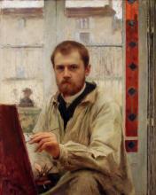 """Emile FRIANT  """"Auto-portrait"""""""