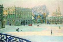 """Albert HOREL  """"La Place Stanislas"""""""