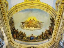 """Joseph HUSSENOT """"Plafond de l'église St. André de Lille"""""""