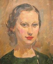 """Adrienne JOUCLARD  """"Autoportrait"""""""
