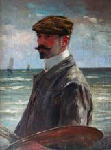 Edmond LOUYOT        :  Autoportrait