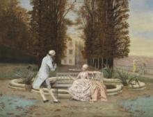 """Joseph LAURENT  """"Dans un parc"""""""