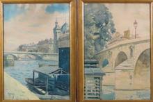 """Maurice LEMOY  """"Vues de Paris"""""""